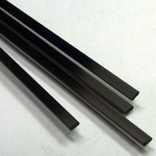 Flachcarbon, rechteckiges Kohlefaserprofil
