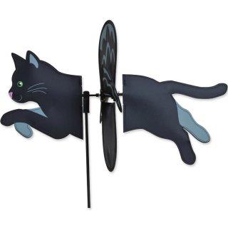 Petite Spinner Black Cat