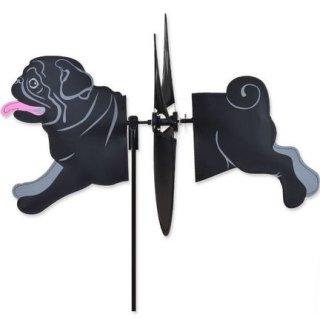 Petite Spinner Mops schwarz
