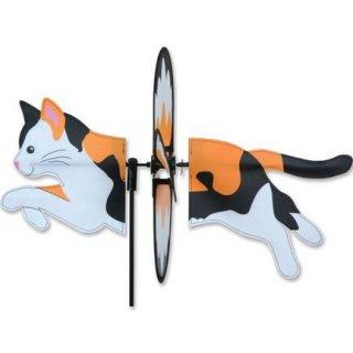 Petite Spinner Calico Cat